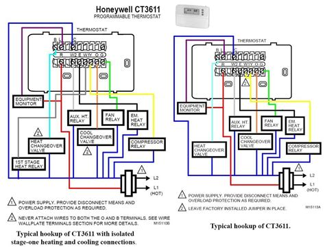 hvac thermostat wiring color code hvac free engine image