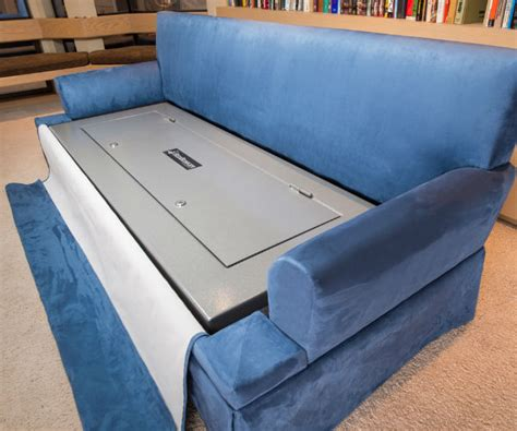 hidden sofa bed couch bunker hidden safe sofa bed