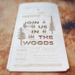 christine ian s diy lasercut woodland wedding invitations