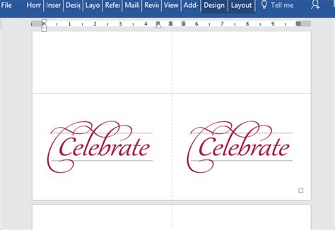 celebrate it occasions place cards template invitation card template for word