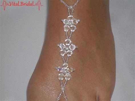 how to make beaded foot jewelry 78 images about on beaded foot jewelry