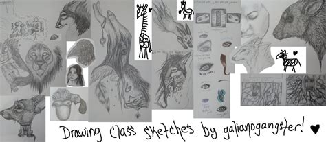 Drawing 1 Class by Drawing Class Sketch Dump 1 By Galianogangster On Deviantart