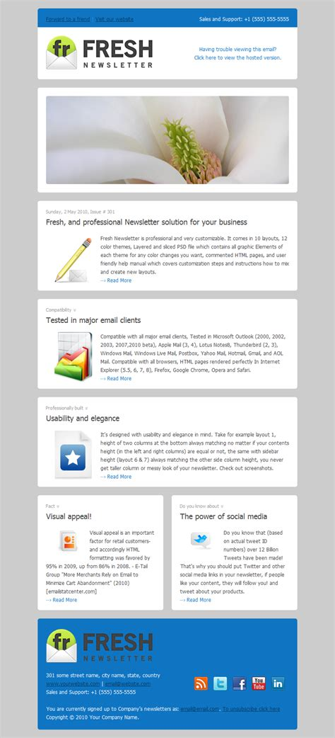 Email Template Design Best Practices by 10 Email Templates Best Practices For E Marketing