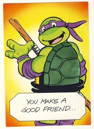 printable birthday cards ninja turtles donatello friendship greeting card ninja turtles tmnt