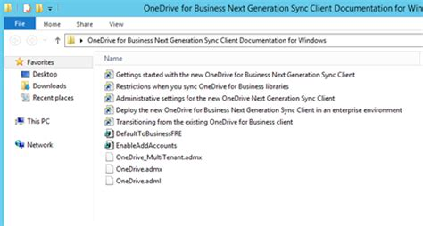 onedrive for business gpo templates install onedrive for business administrative templates
