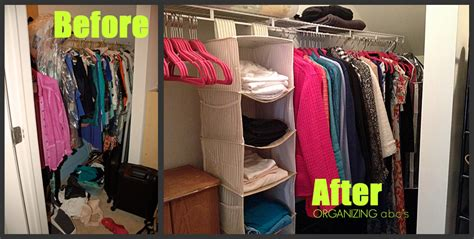 Closet Organizing Ideas On A Budget by Organizing Abc S