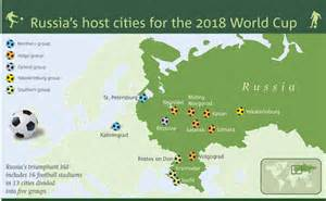 world cup host cities map tours to russia world cup 2018 tour