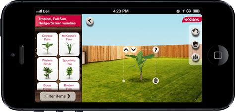 Backyard App by Garden Yates