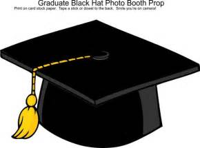 graduation black hat photo booth prop photo booth props