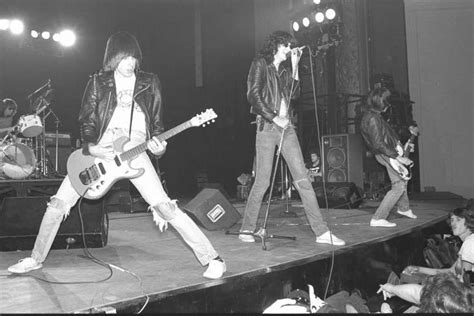News Of The Ramones From January 2013 | new york january 07 the ramones perform live on stage
