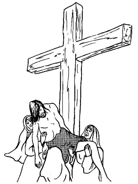 jesus coloring pages and christian bible pictures of