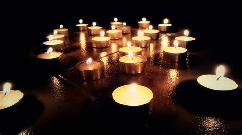 imagenes de velas rojas encendidas 2922 velas encendidas efecto luces nocturnas youtube
