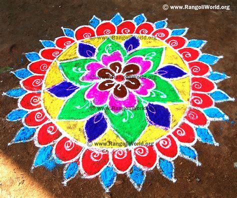 design is rangoli flower rangoli designs collection 1