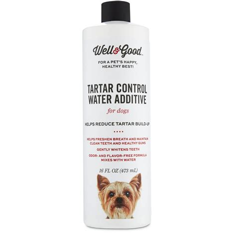 water additive for dogs well tartar water additive for dogs petco
