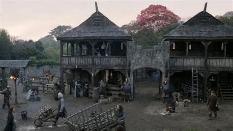 Courtyard Home Design by Winterfell Set Being Prepared For Game Of Thrones Season 5