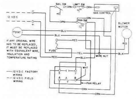 american standard wiring diagram wiring diagram with