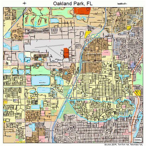oakland florida map oakland park florida map 1250575