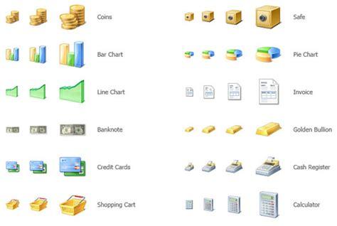 commerce icons  web designers djdesignerlab