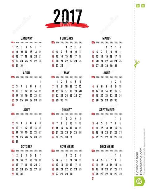 12 Month Calendar 2017 12 Month Editable Printable Calendar 2017 Calendar