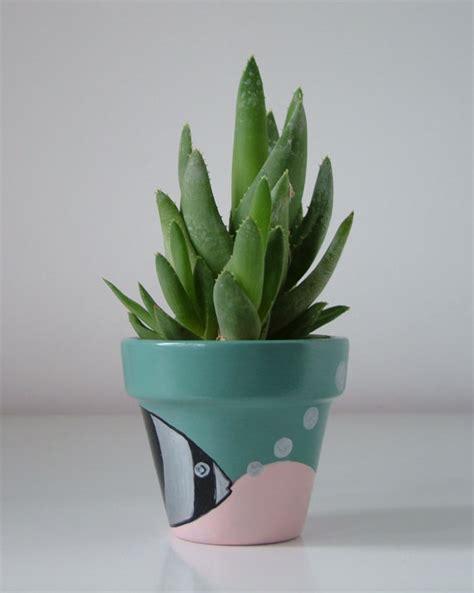 vaso di coccio vaso di terracotta dipinto a mano
