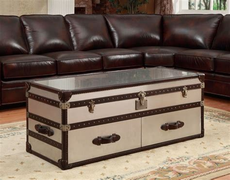 steamer trunk coffee table barkhstead steamer trunk coffee table product review