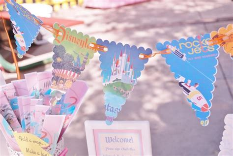 karas party ideas vintage disneyland party planning ideas