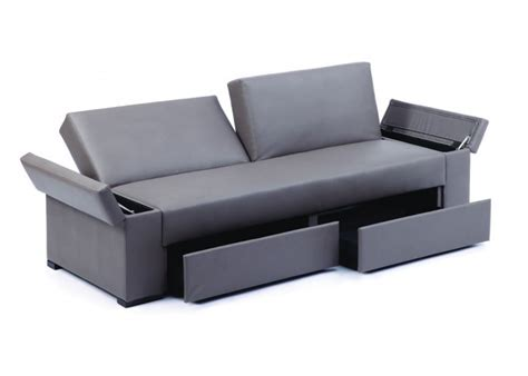 The Sofa Storage by Modern 3 Seater Adjustable Sofa With Storage
