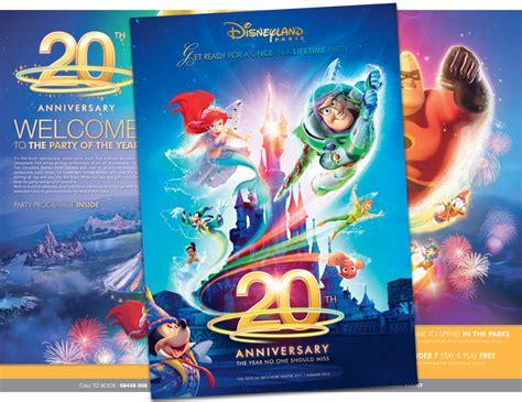 design love fest paris guide 20th anniversary disneyland paris brochure now available