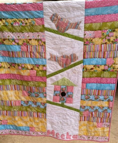 Jelly Roll Race Baby Quilt by Baby Jelly Roll Race