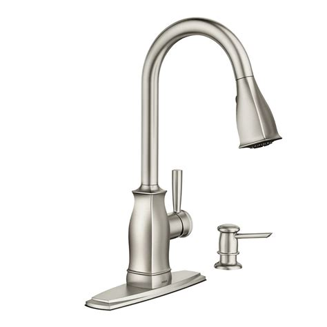 Moen Benton Kitchen Faucet by Moen Benton 1 Handle Pulldown Kitchen Faucet