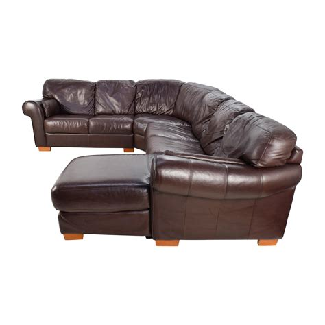 Raymour And Flanigan Leather Sectional by 63 Raymour Flanigan Raymour Flanigan 4