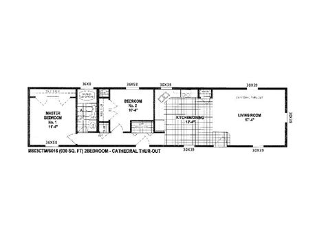 Floor Plans For Mobile Homes Single Wide by Double Wide 30 X 40 Mobile Home Floor Plans Trend Home