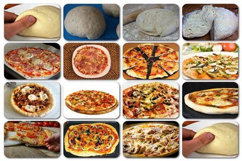 como se cocina la pizza como hacer masa de pizza y pizzas variadas