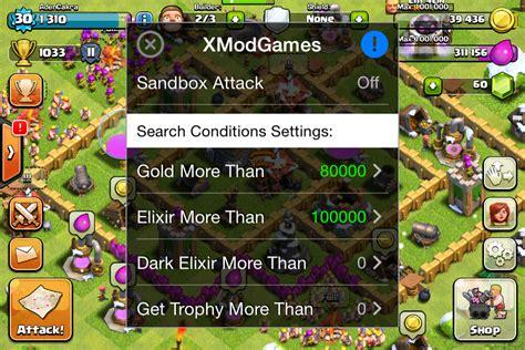 xmodgame com tweak xmodgame cheat untuk clash of clans zero apple s