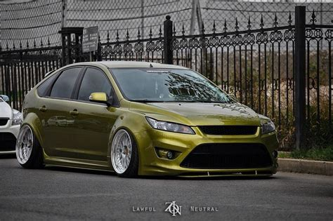 lexus hatchback modded heavy modified ford focus mk2 st ford ford