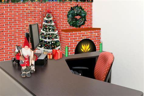 how to decorate my cubicle for christmas ideas for cubicle decorations lovetoknow