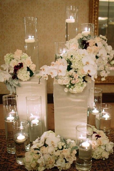 january wedding ceremony ideas january wedding floral design new years wedding glass candle