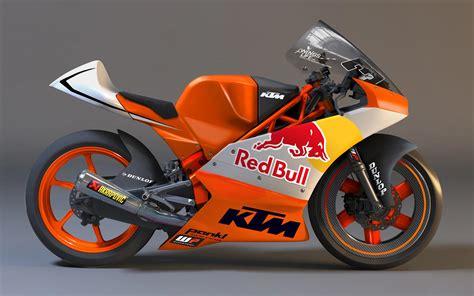 Moto Ktm Look Ktm Moto3 Race Bike Asphalt Rubber