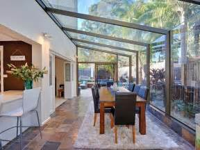 Sun Room Extension Prices All Glass Conservatory Blends Well With The Garden For A