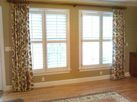 Large Window Treatments Large Window Dressing Window Treatments