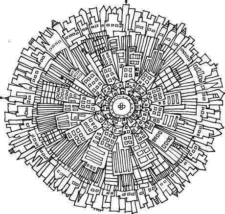 the pattern and nature of urbanization mandalas pattern of the day