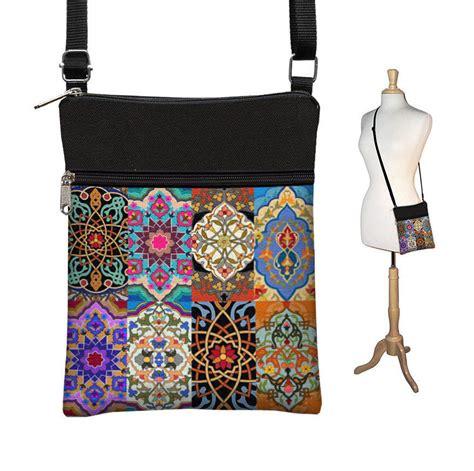Small Handmade Bags - small cross shoulder bag purse bohemian travel bag