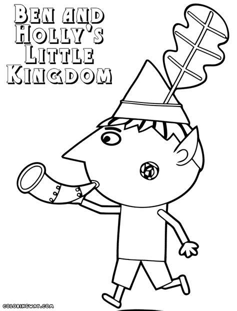 king benjamin coloring page colouring pages for ben and holly colouring coloring pages
