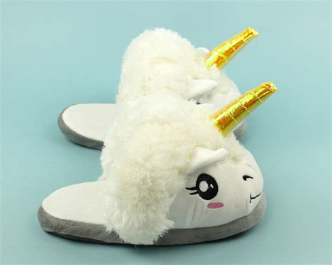 unicorn slippers unicorn slippers plush unicorn slippers for