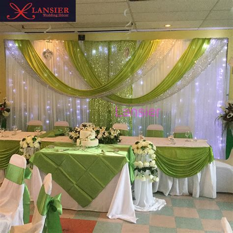 Wedding Backdrop Green by Buy Wholesale Wedding Ceremony Backdrops From China