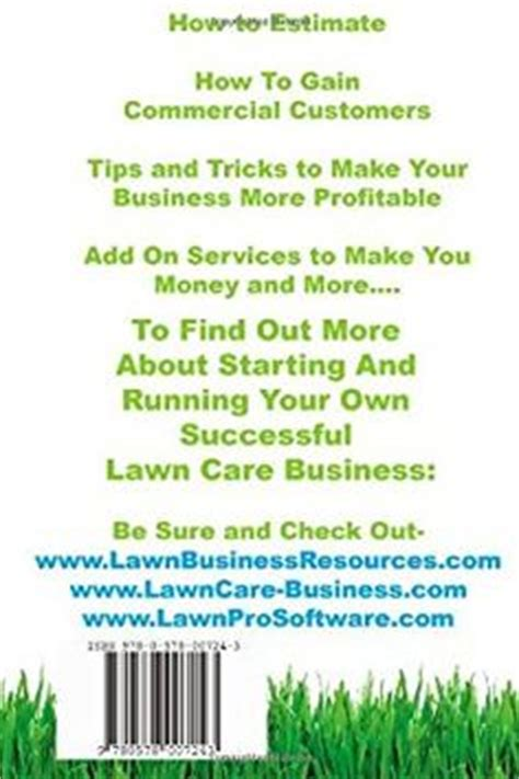 start lawncare business report with privatelabelrights