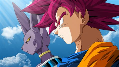 dragon ball z beerus wallpaper wallpaper beerus super saiyan god goku dragon ball z
