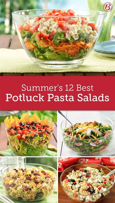 How To Bring Salad To A Potluck by These Easy Potluck Pasta Salads Are The Best Sides At Any