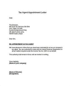 Letter Of Appointment As Insurance Broker 7 Sle Appointment Letter Free Sle Exle Format