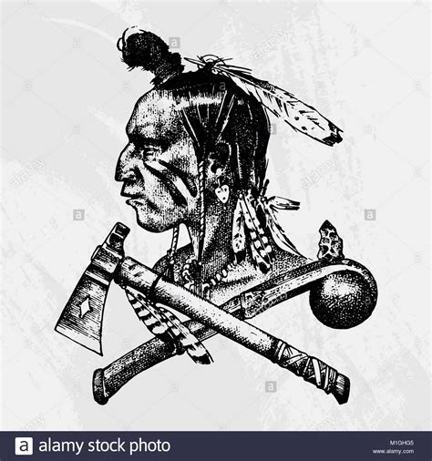 india doodle chs apache indian black and white stock photos images alamy